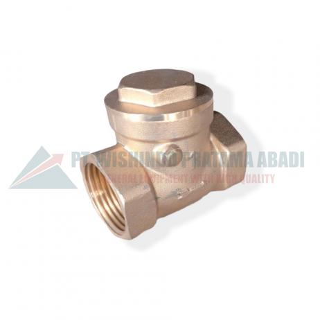 Brass check valve DN25 banyak digunakan di industri terutama yang bergerak dalam pengelolaan liquid. Brass check valve DN25 type 06L