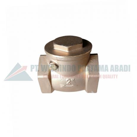 Brass check valve DN50 banyak digunakan di industri terutama yang bergerak dalam pengelolaan liquid berfungsi sebagai katup aliran balik liquid