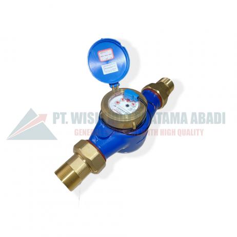 Calibrate type LXSG-50 Pulser merupakan meteran air yang sudah banyak digunakan oleh masyarakat Indonesia. Water meter Calibrate size 2 inch (DN50)